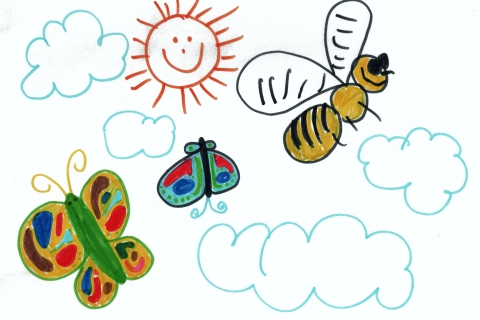 aisha_2005 - Butterflies and Bumblebee