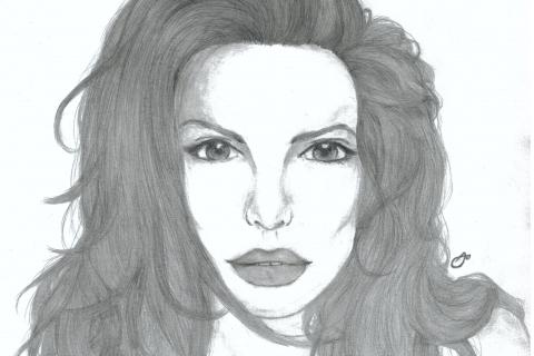 aisha_2015-01 - Portrait of Angelina Jolie