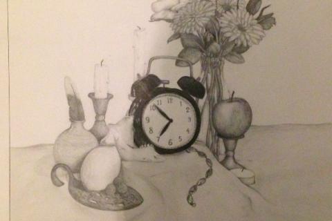 still-life-pencil