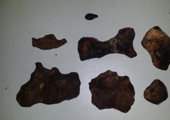 meteorites_20161211_193013 m001-m006 and tectite